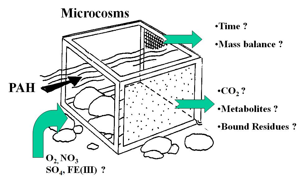 Prinzip der Mikrokosmosuntersuchungen